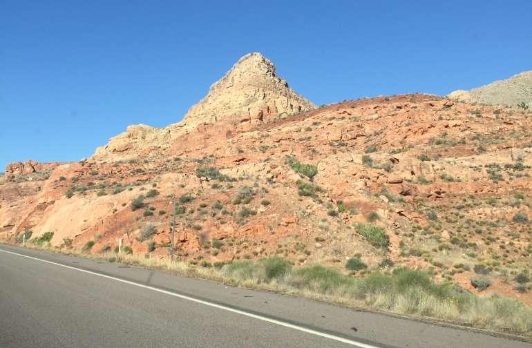 Beautiful drive to Cedar City on I-15
