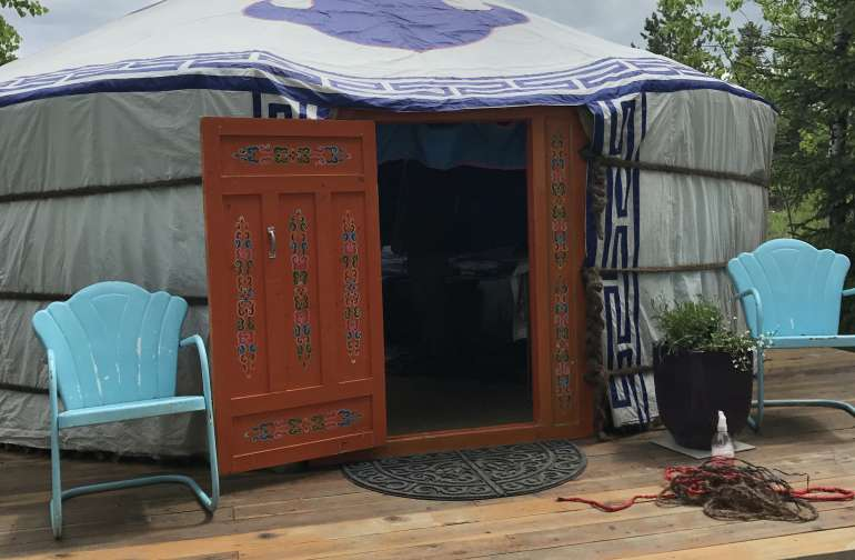 "Mongolian Ger ""Glamping"" Experience"