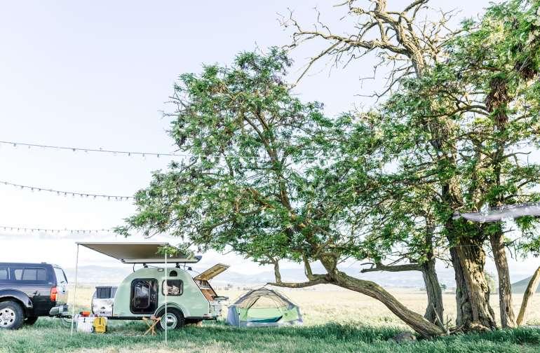 tent rv lodging