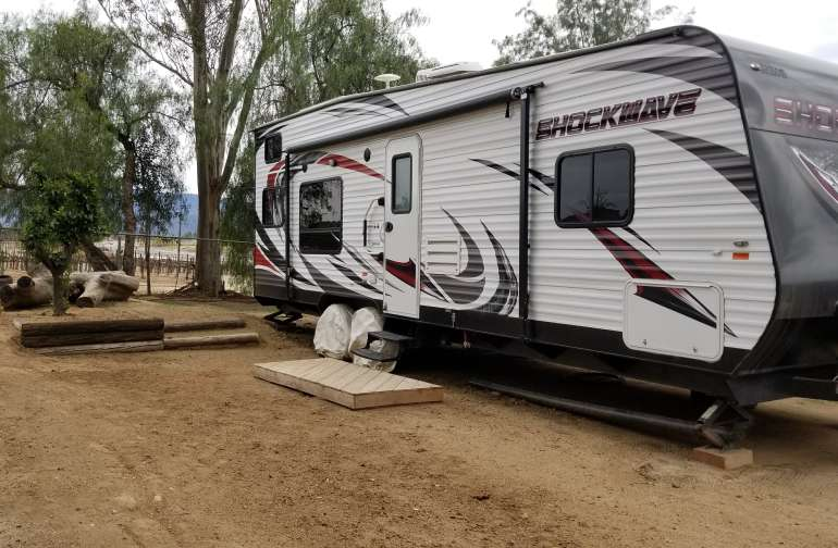 Wine CountryRV with a Vineyard View