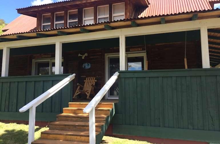 remodelled 1880's log cabin