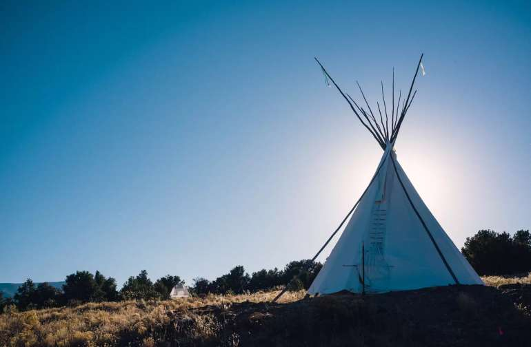 "Sol Mountain Tipi - Paa (""Water"")"