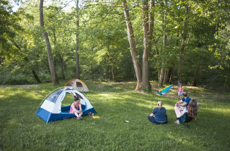 A Rustic Ravines Camping Adventure
