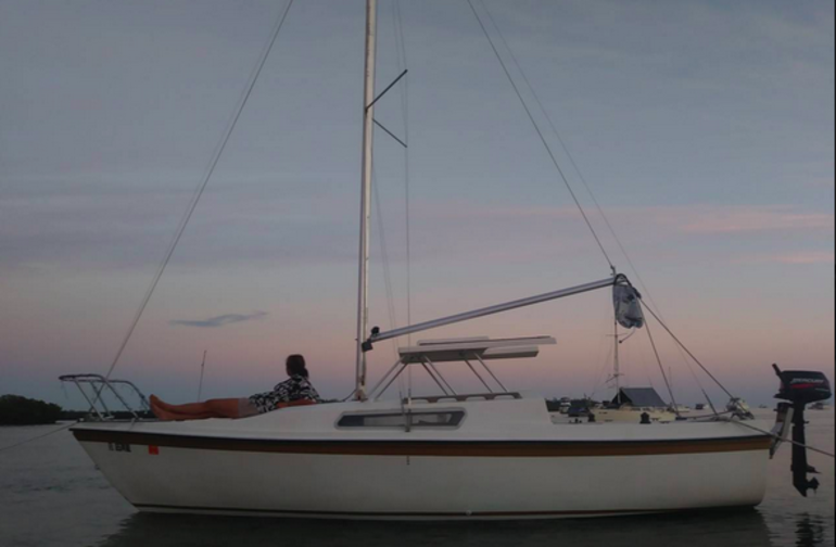 Sleep under the stars out on the water, while still having easy access to land