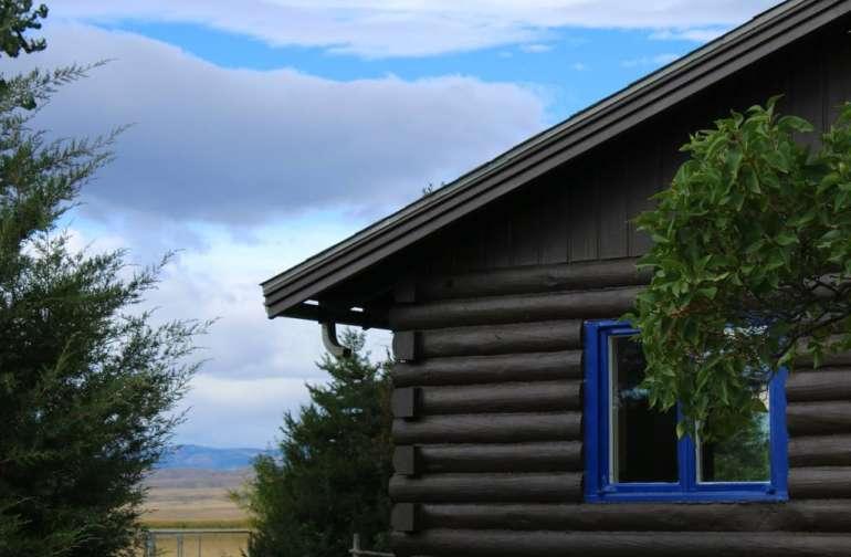 Heart Mountain Log Cabin