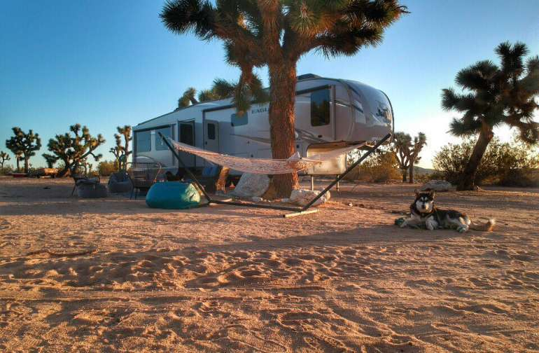 Luxury RV Wilderness Adventure!