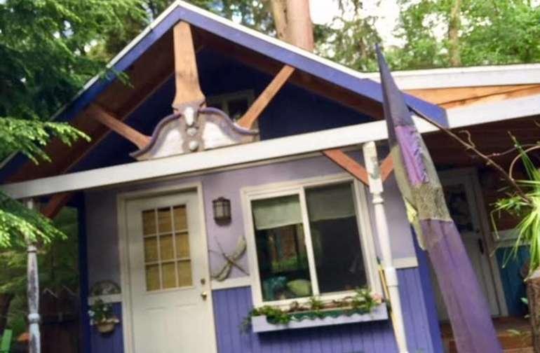 Purple Cottage Studio!