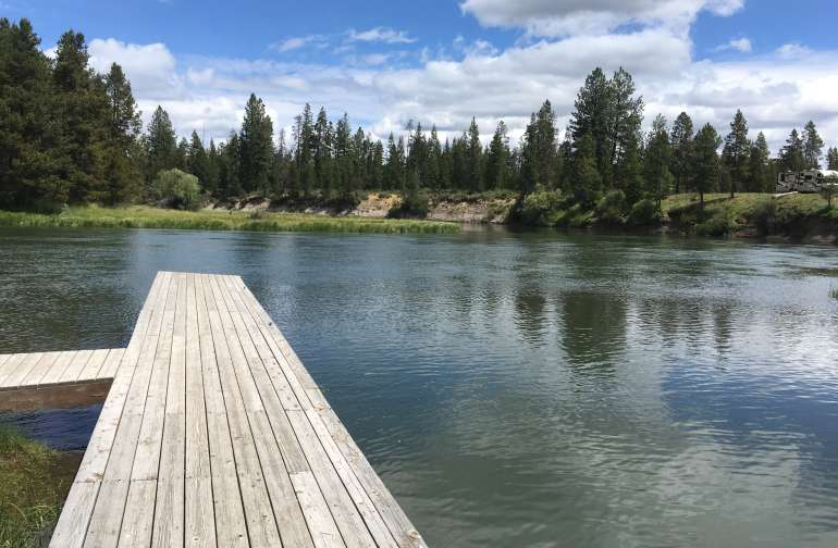 Deschutes River access