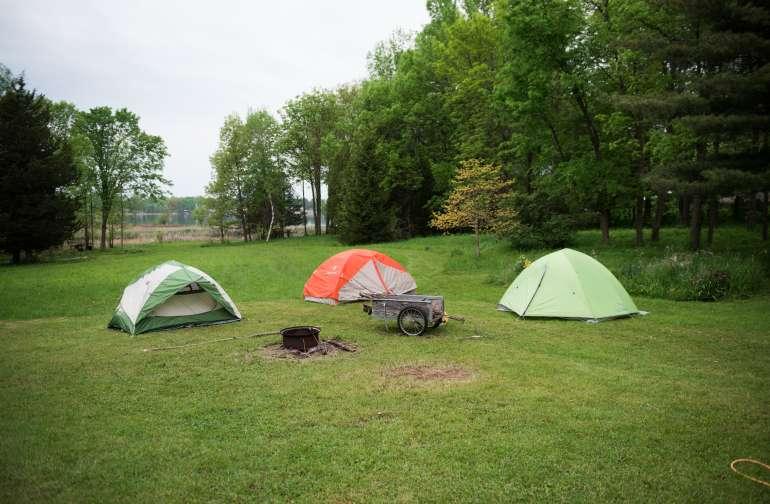 tent lodging amenity