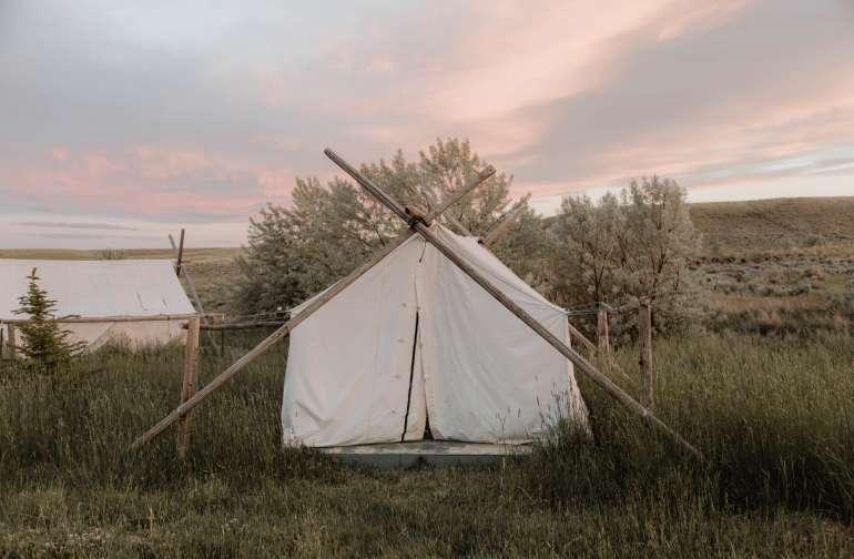 Small Cowboy Wall Tent