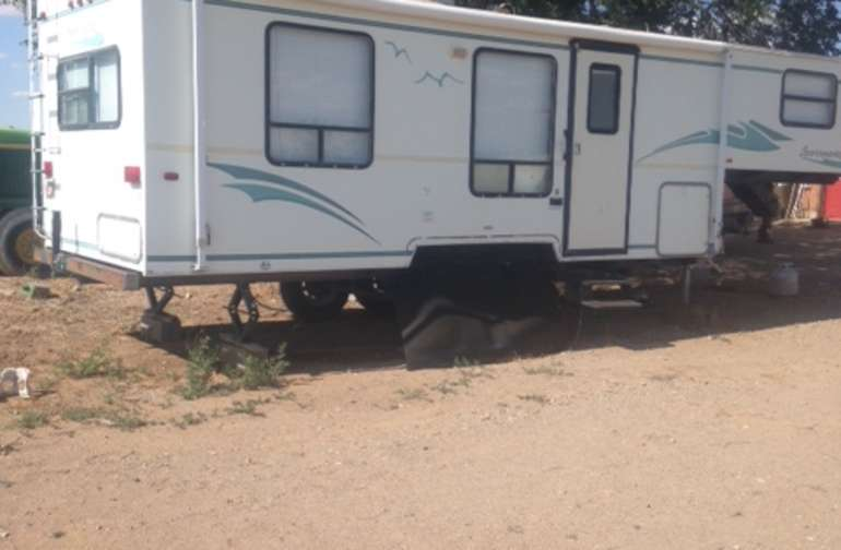 For comfort and relaxation stay in our 24 foot RV with large bed, full kitchen and bath with shower.  AC and heat for all seasons.