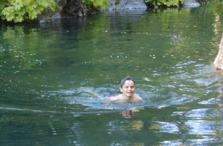 Delicious deep, cold pool