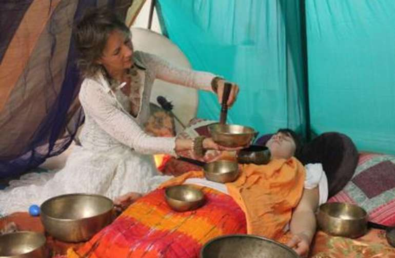 Healing services available upon request and by donation: Sound Healing with Tibetan Singing Bowls