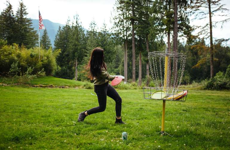 6 hole disc golf course available if you want to test your frisbee skills