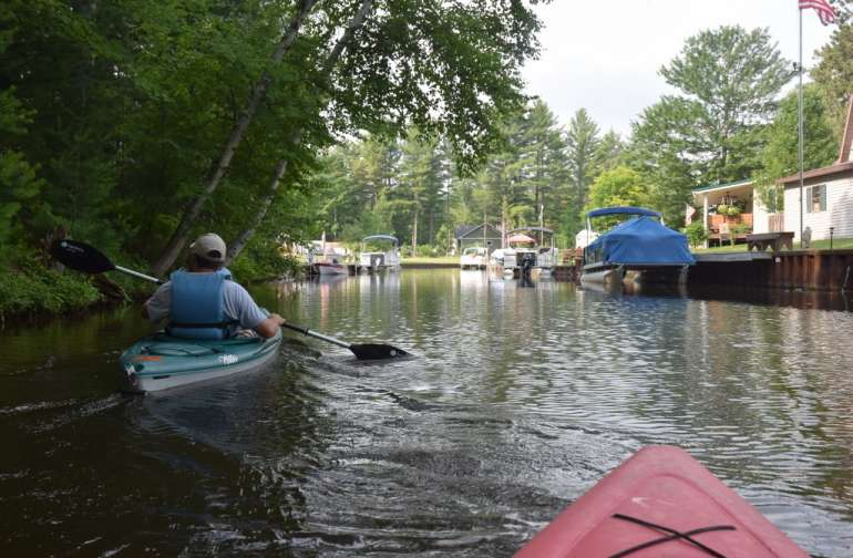 Wixom Lake rustic waterfront camp