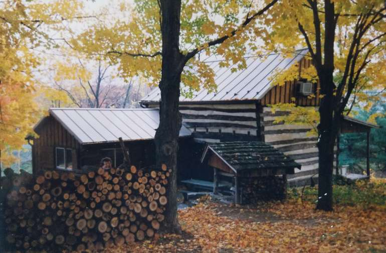 Catlett Gap Historic Log Cabin