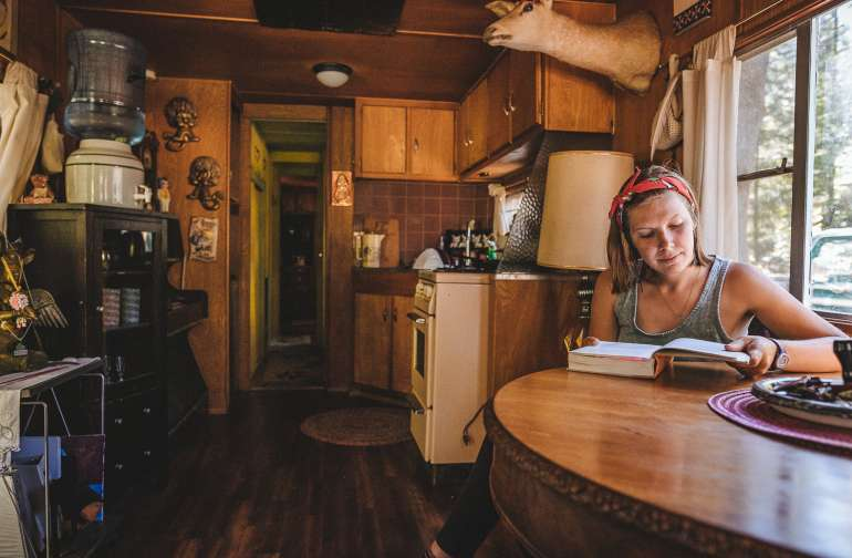 cabin people lodging
