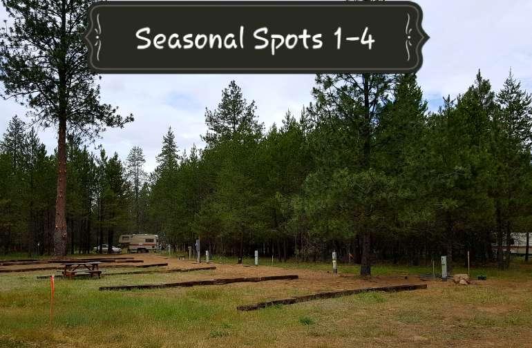 Seasonal RV Spots 1-4