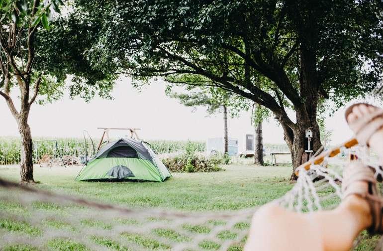 There's already a hammock. Go enjoy it!