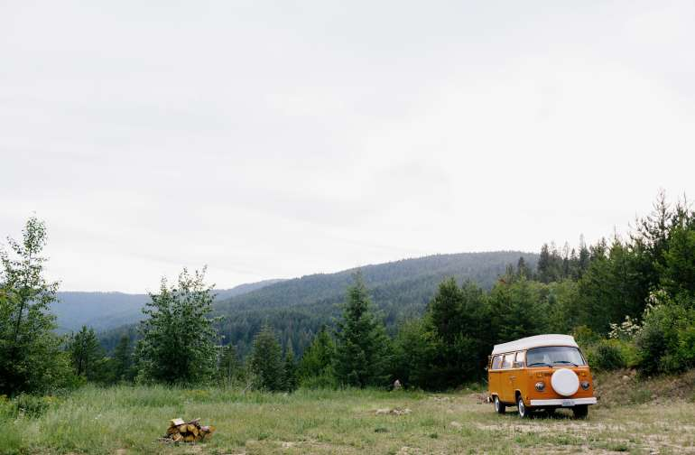 forest van lodging
