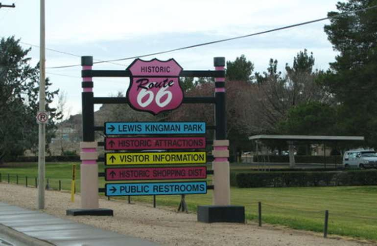 We are just minutes away from Historic route 66 museum