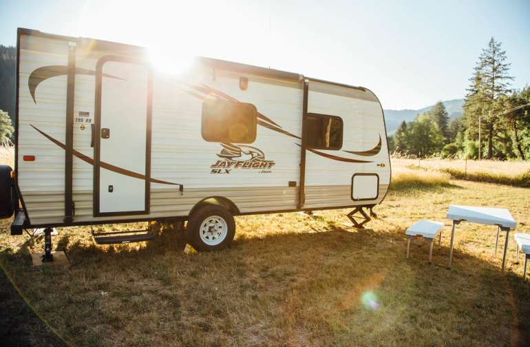 The meadow is great for RVs too!