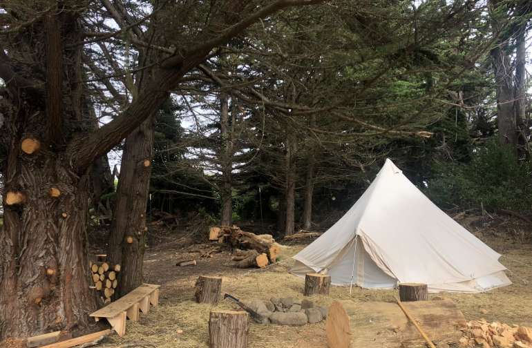 Wavelength Farm Cypress Grove Tipi