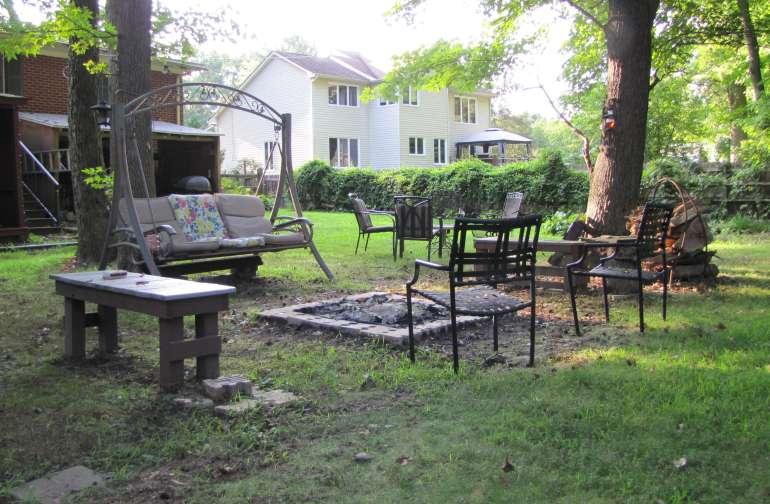 Park Like Backyard Camping