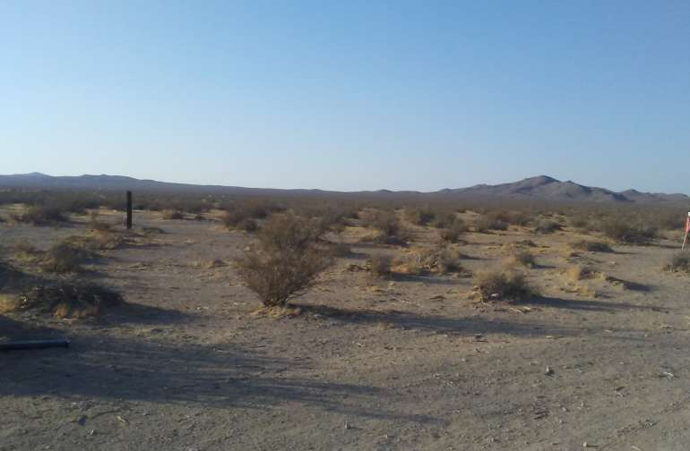 Lots of desert land to explore. Lots of places to ride and shoot.