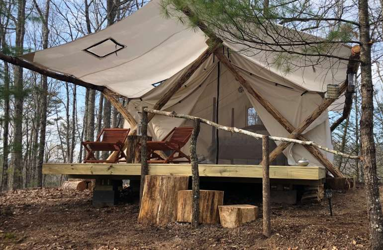 Glamping at its finest, Great Smoky Mountains!