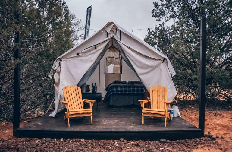Tent Near Zion