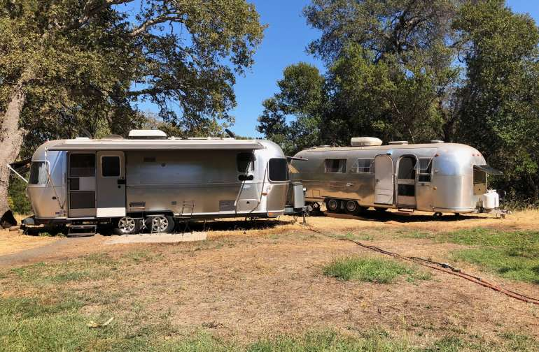 TWO Airstreams