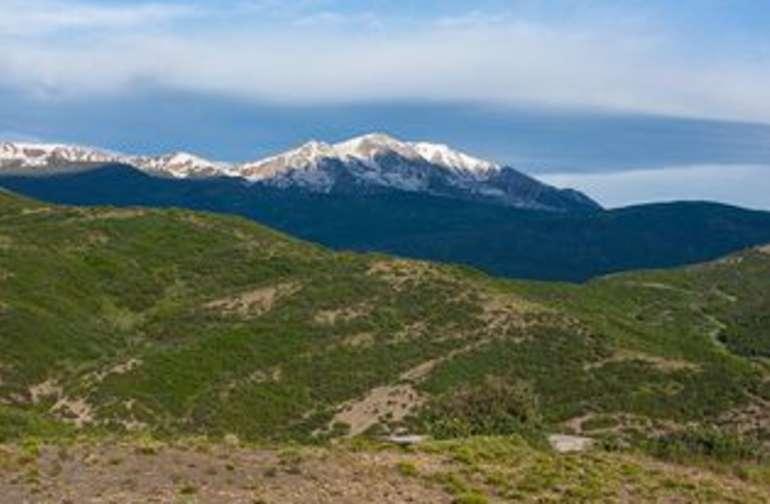 Mount Sopris view, due west.