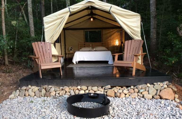 Pondside Tent Cabin