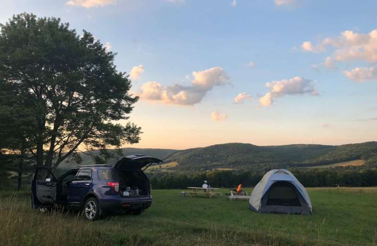 Your camp site