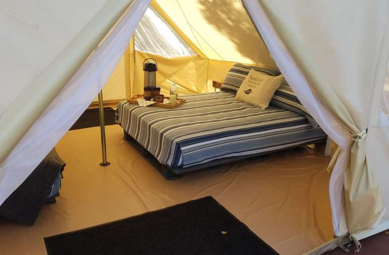 Peace Of Mind Glamping Tent