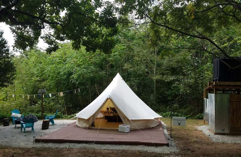 Tranquility Glamping Tent
