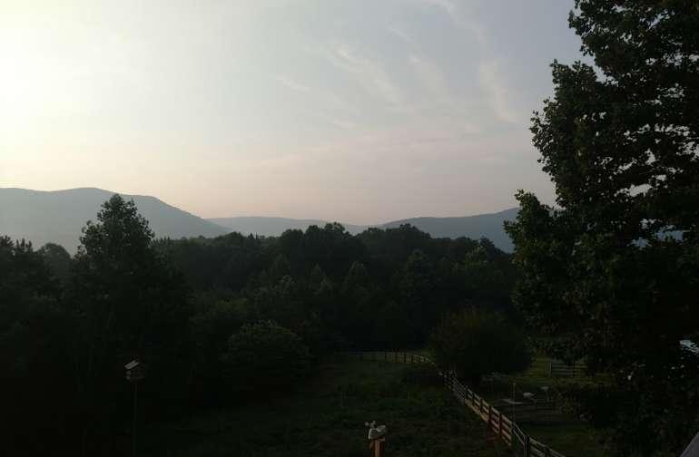 Beautiful Views of the Blue Ridge