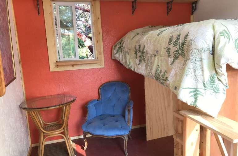 Tiny Cabin Privat Meditation Garden