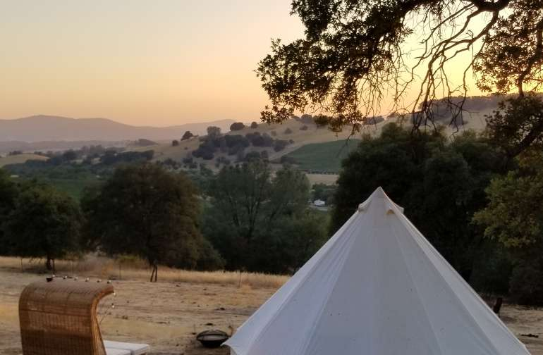 Glamping Near Ironstone -2 Beds