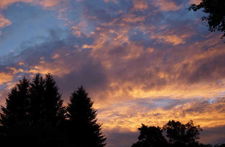 We have some great skies here.