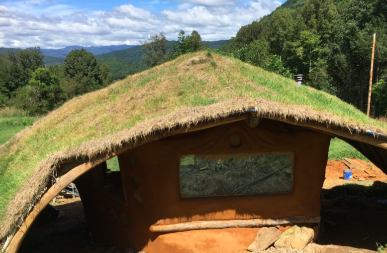 The incredible hobbit house, which will be soon available for rent!