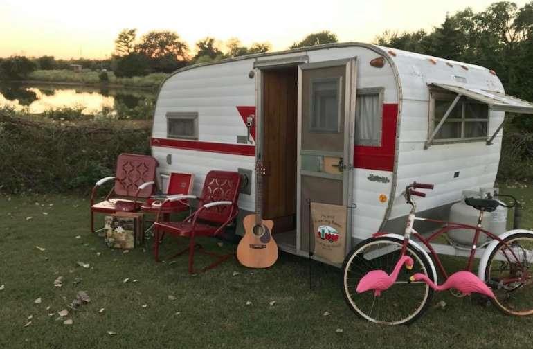 Vintage Camping Experience Getaway