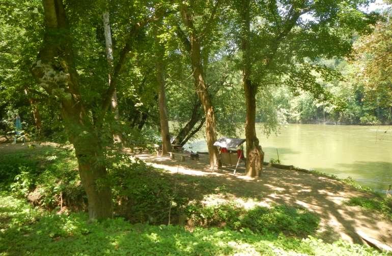 Canoe Crossing on the Shenandoah R.