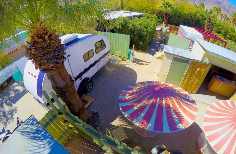 Trailer Glamping Anza Borrego -Pool