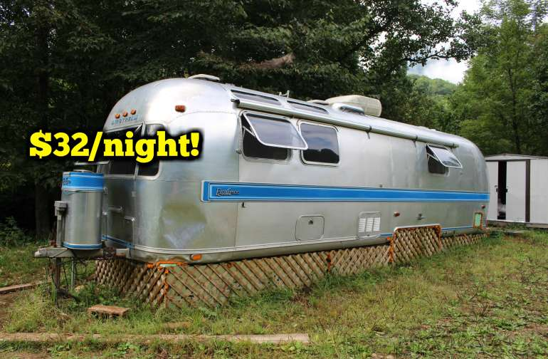 Airstream glamping experience!