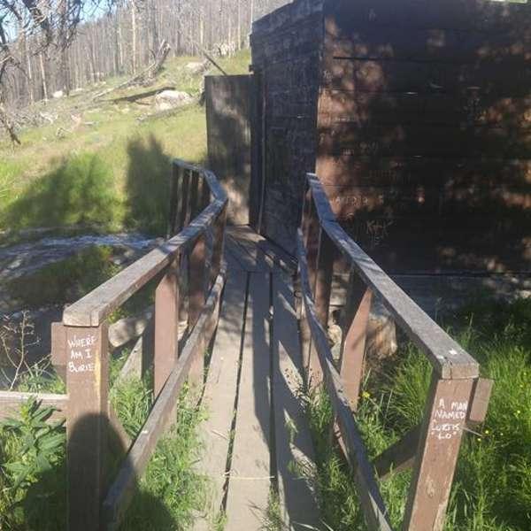 Horse Creek Hot Spring Campground, Salmon Challis, ID: 1