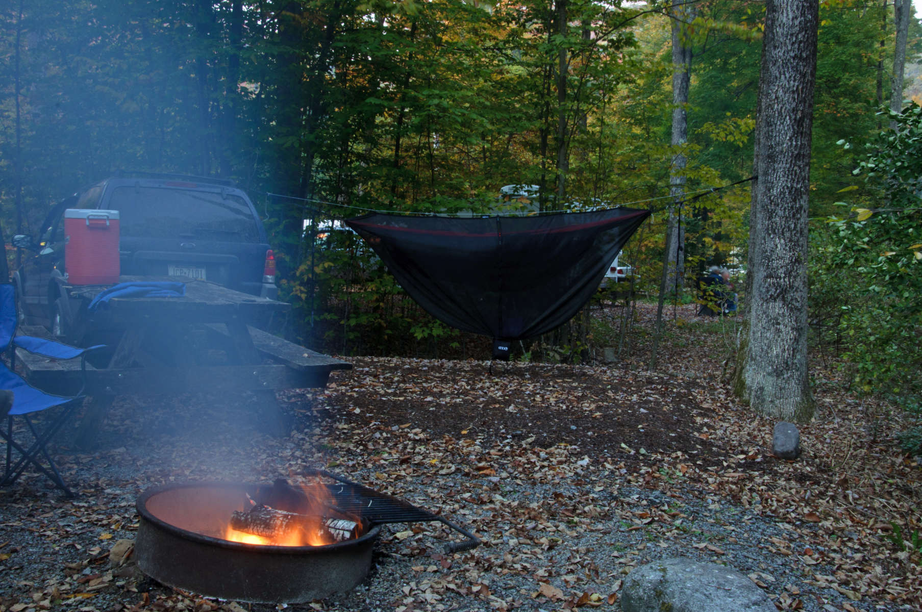 Worlds End Park Campground, Worlds End Park, PA: 2 Hipcamper