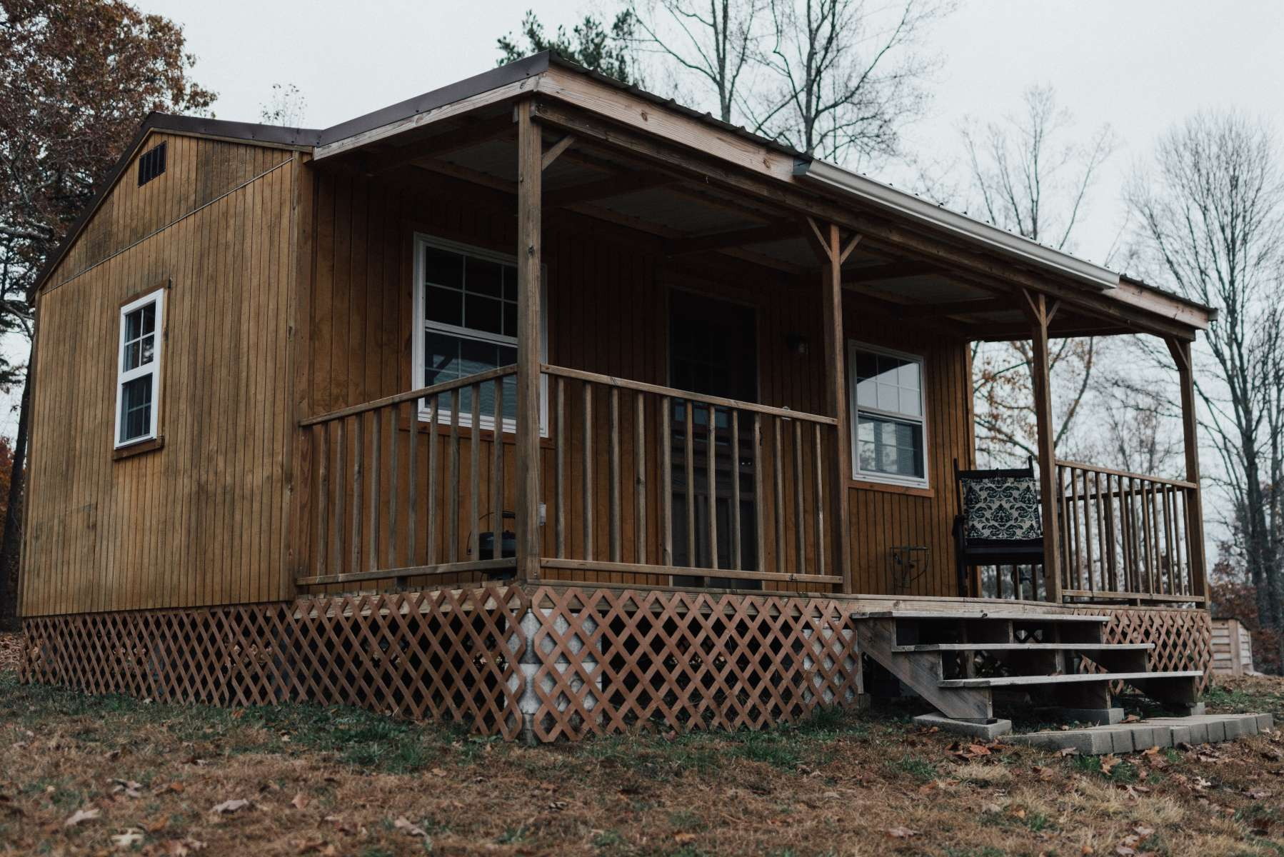 Camping Cabin: Lower Rates!