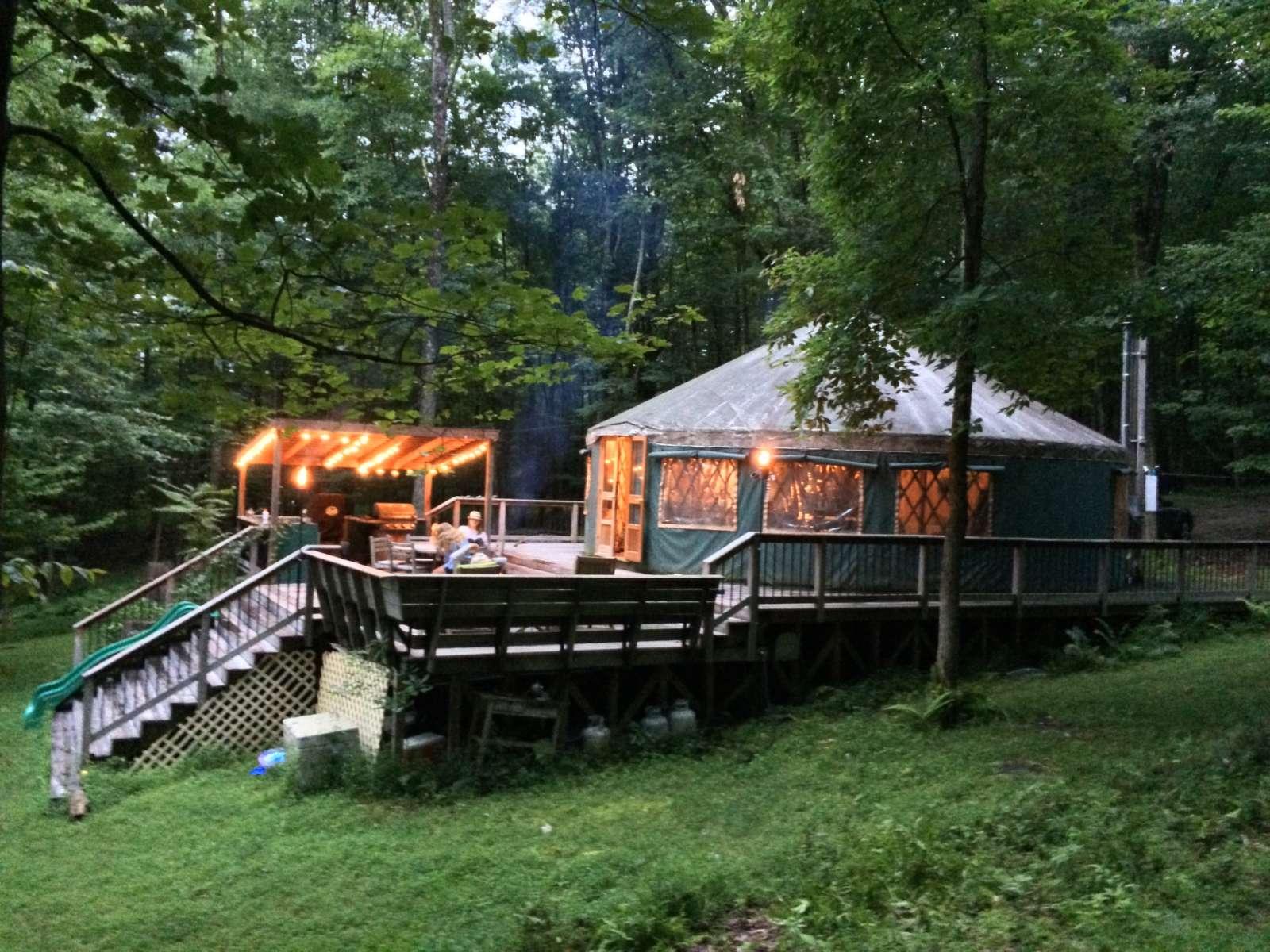 Yurt In Upstate Ny